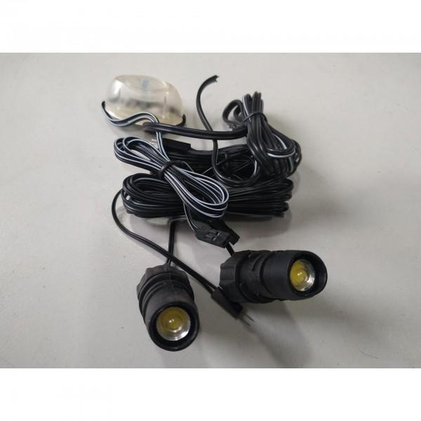 ΛΑΜΠΕΣ LED STROBO LIGHT AUTO MOTO ΚΙΤ LED ΗΜΕΡΑΣ Αξεσουαρ Αυτοκινητου - sportcorner.gr
